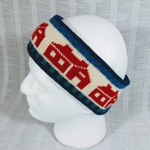 Vintage Mountain Ladies Ewe Wool Ear Head Band USA